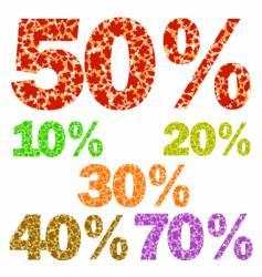 seasonal sale vector image vector image