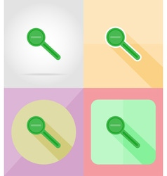 Service flat icons 10 vector