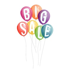 Big sale advertisement background vector