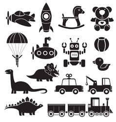 toys icon vector image