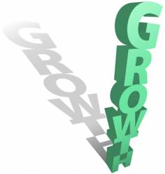 growth concept vector image vector image