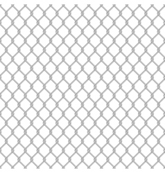 Seamless chain link fence vector