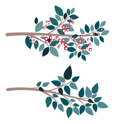 Simple tree branch vector