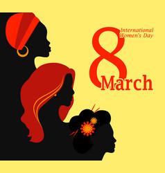 International women day vector