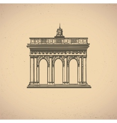 Old building vector