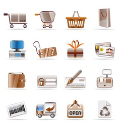Online shop and web site icons vector