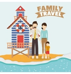 Traveler lifestyle design vector