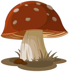 Magic Mushroom vector image