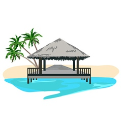 Beach resort vector