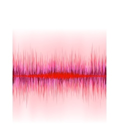 Abstract equalizer background Red wave EPS 8 vector image