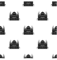 Cairo citadel icon in black style isolated on vector
