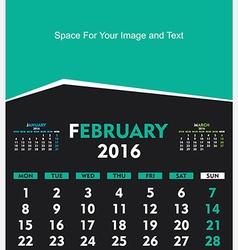 Creative happy new year 2016 greeting card designa vector