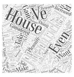 Does your house need a kitchen remodel word cloud vector