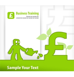 business eng vector image
