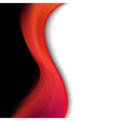 Dark red background with abstract line vector