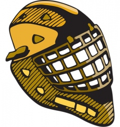 Hockey mask vector