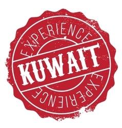 Kuwait stamp rubber grunge vector