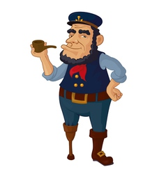 Old seaman vector
