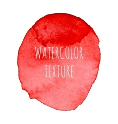 Red Watercolor Background vector image vector image