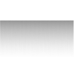 vertical gradient halftone dots background vector image vector image