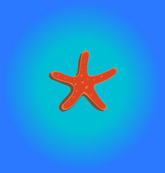 Seastar blue vector