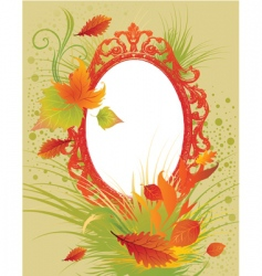 Thanksgiving frame vector