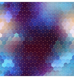 Abstract geometric violet background vector
