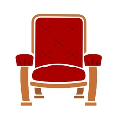 A comfy chair vector