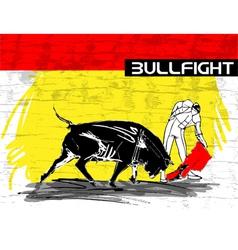 Bullfight vector