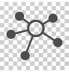 Connections Icon vector image vector image
