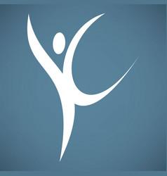 Dance icon vector