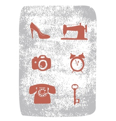 repair shops set vector image vector image