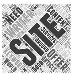 Butterbur for Migraines Word Cloud Concept vector image