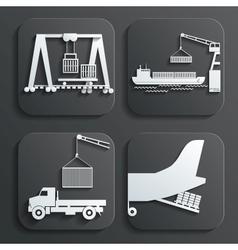 Shipment set vector