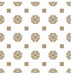 Japan kimono inspired seamless pattern in vector
