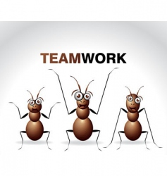 antic ant character vector image