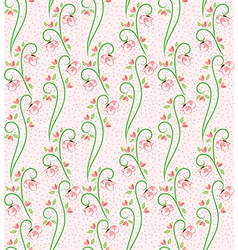 Swirl Nature Butterfly Pattern 3 vector image