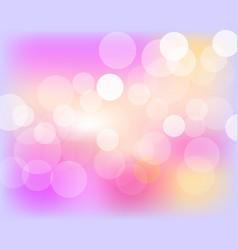 Abstract bokeh background festive defocused vector