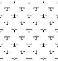 Military plane pattern simple style vector
