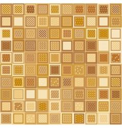 Mosaic Bricks vector image vector image