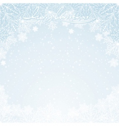 winter days vector image vector image