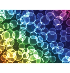 bubble pattern background vector image vector image