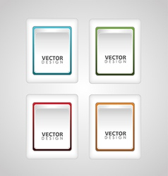 Button Icon vector image vector image