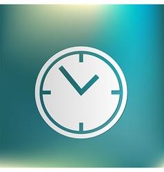 clock watches icon vector image vector image
