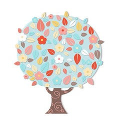 Fantastic Tree vector image vector image