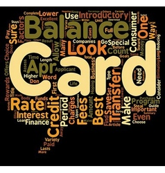 Guide to the best balance transfer credit cards vector