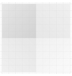 Graph grid paper vector image