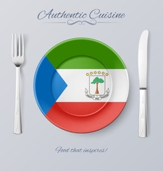 Authentic cuisine vector