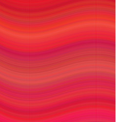 Red smooth wave background - vector