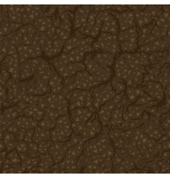 Seamless pattern of ground inside vector image vector image